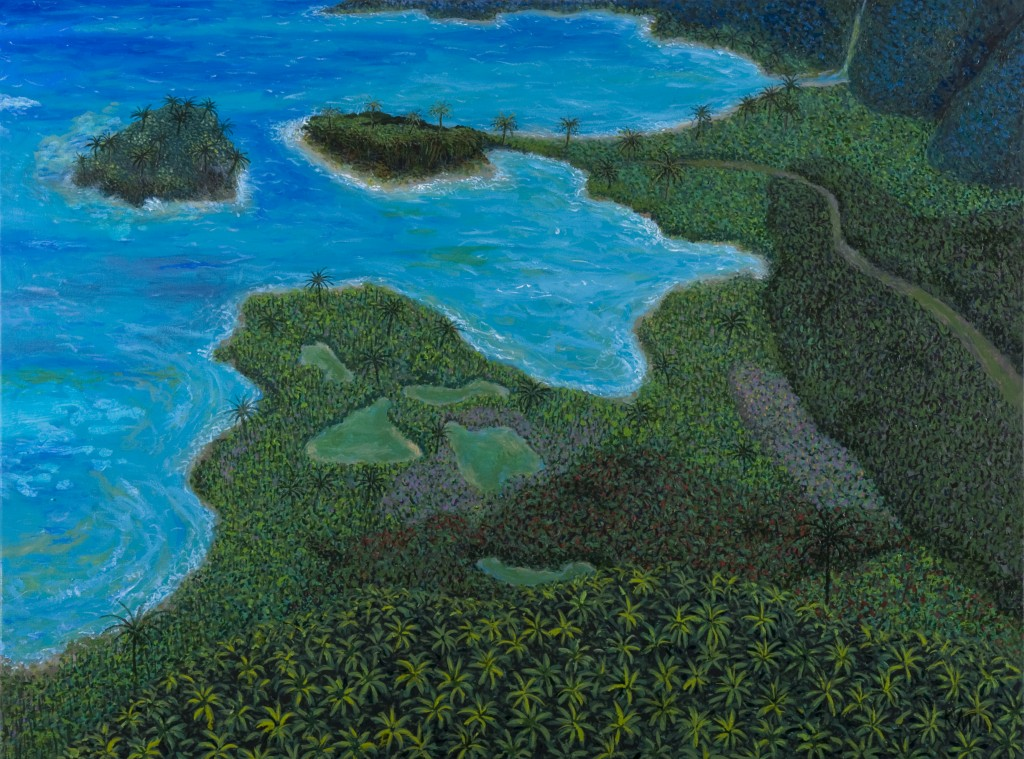"""Caribbean oil on canvas 2010"