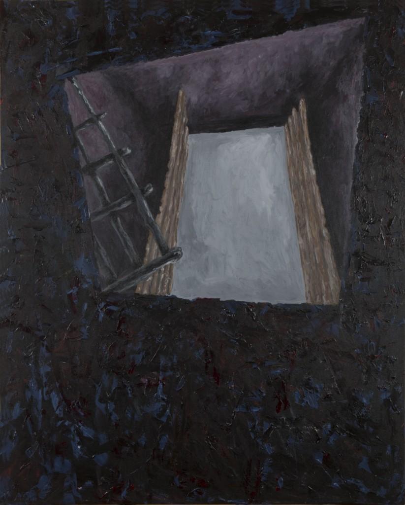 """Door of No Return II"" acrylic on canvas 48 x 60"" 2014"