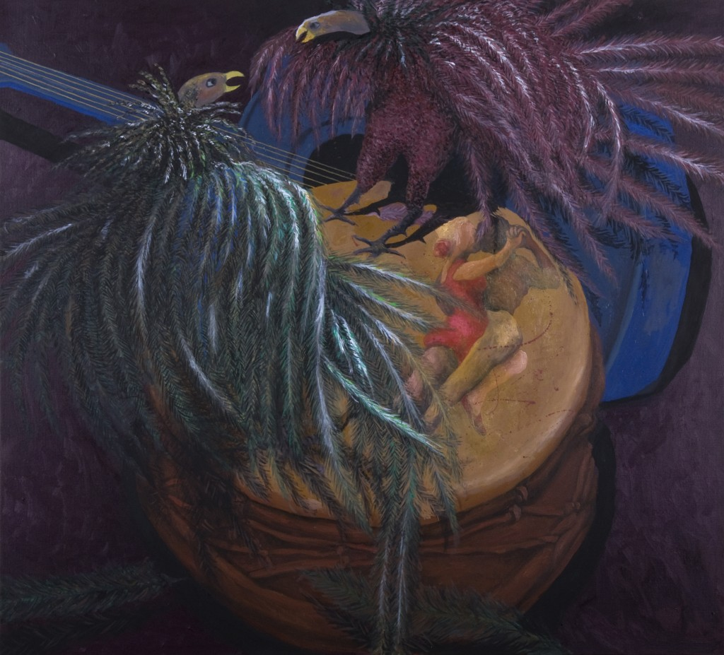 """The Tango"" oil on canvas 40 X 44"" 2011"