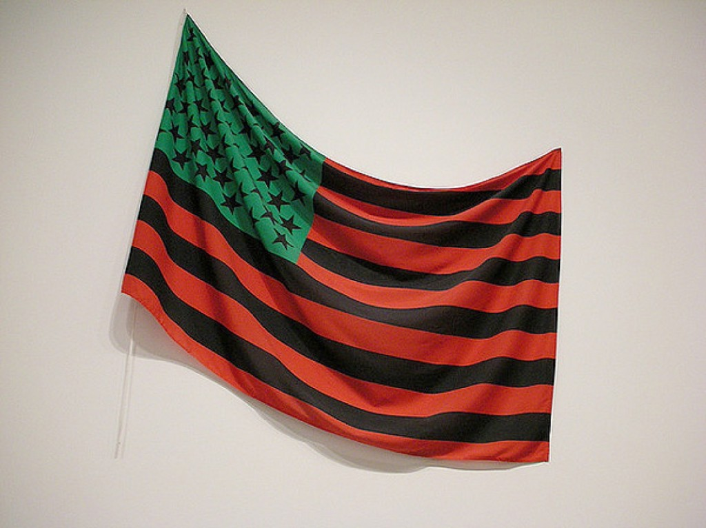African-American flag David Hammons